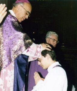 Ordenación sacerdotal de Eduardo Laforet